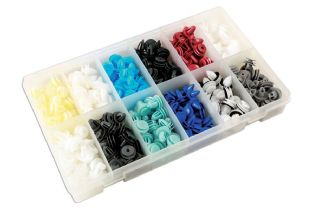 Connect 36047 335 Piece Assorted Box of Panel Clips Asian Market